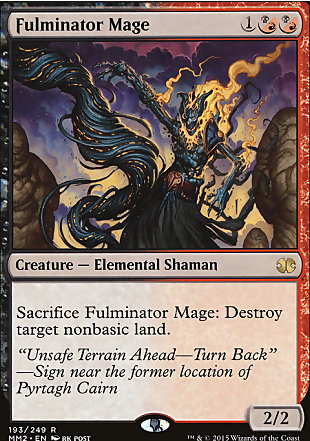 image of card Fulminator Mage