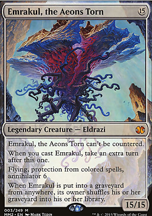image of card Emrakul, the Aeons Torn