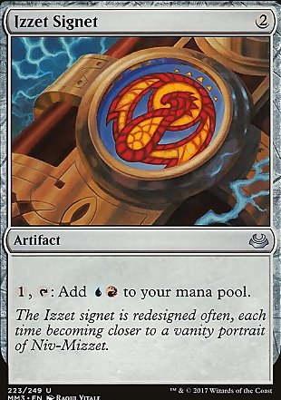 image of card Izzet Signet