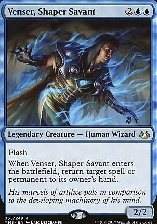 image of card Venser, Shaper Savant