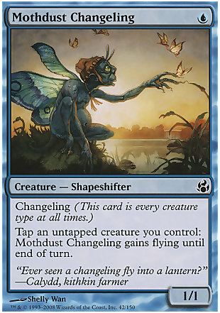 image of card Mothdust Changeling