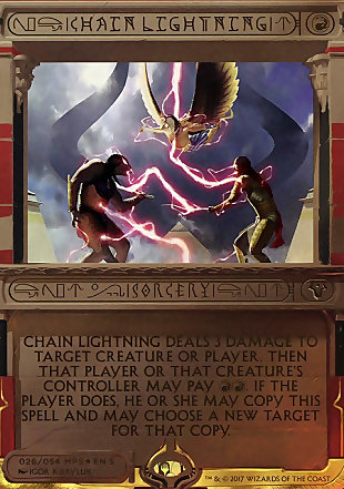 image of card Chain Lightning