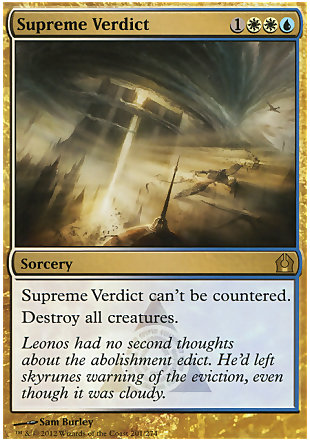 image of card Supreme Verdict