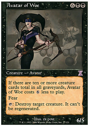 image of card Avatar of Woe