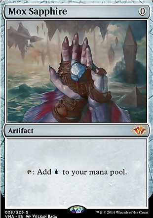 image of card Mox Sapphire