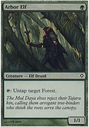 image of card Arbor Elf