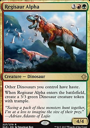 image of card Regisaur Alpha