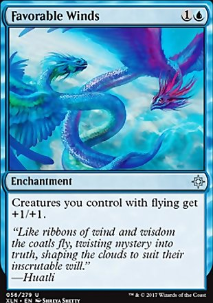 image of card Favorable Winds