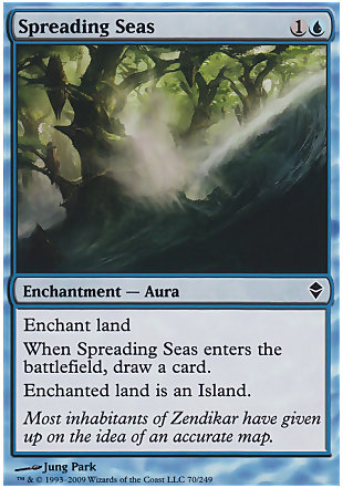 image of card Spreading Seas